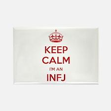 Keep Calm I'm An INFJ Rectangle Magnet