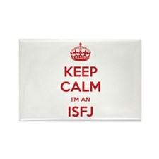 Keep Calm I'm An ISFJ Rectangle Magnet