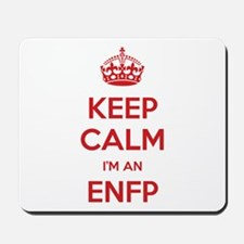 Keep Calm I'm An ENFP Mousepad