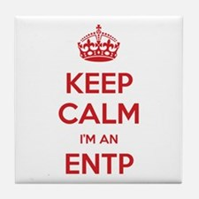 Keep Calm I'm An ENTP Tile Coaster