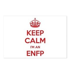 Keep Calm I'm An ENFP Postcards 8 Pack