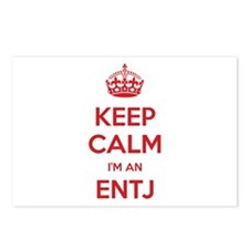 Keep Calm I'm An ENTJ Postcards 8 Pack