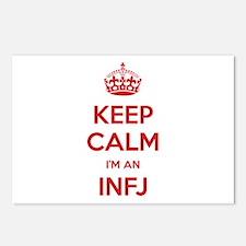 Keep Calm I'm An INFJ Postcards 8 Pack