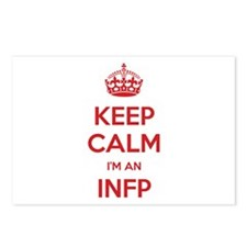 Keep Calm I'm An INFP Postcards 8 Pack