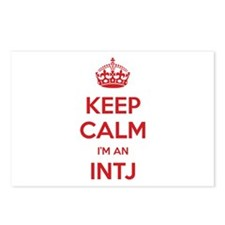Keep Calm I'm An INTJ Postcards 8 Pack