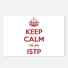 Keep Calm I'm An ISTP Postcards 8 Pack