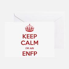 Keep Calm I'm An ENFP Greeting Card