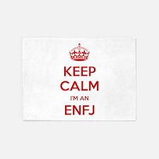Keep Calm I'm An ENFJ 5'x7' Area Rug