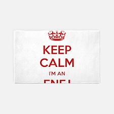 Keep Calm I'm An ENFJ 3'x 5' Area Rug