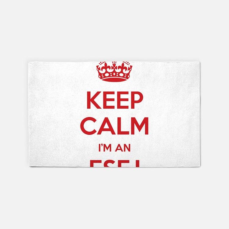 Keep Calm I'm An ESFJ 3'x 5' Area Rug