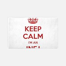 Keep Calm I'm An INFJ 3'x 5' Area Rug