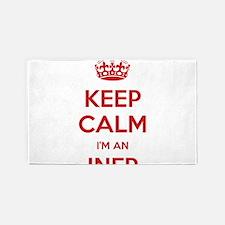 Keep Calm I'm An INFP 3'x 5' Area Rug