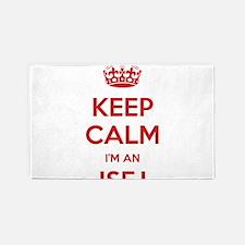 Keep Calm I'm An ISFJ 3'x 5' Area Rug