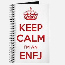 Keep Calm I'm An ENFJ Journal