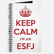 Keep Calm I'm An ESFJ Journal
