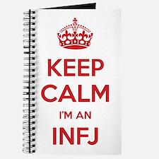 Keep Calm I'm An INFJ Journal