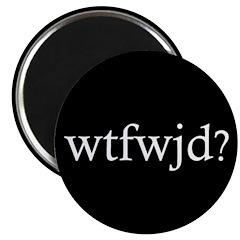 TEN wtfwjd? magnets