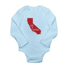 Made in California Long Sleeve Infant Bodysuit