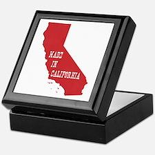 Made in California Keepsake Box