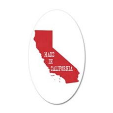 Made in California Wall Decal