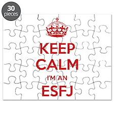 Keep Calm I'm An ESFJ Puzzle