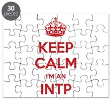 Keep Calm I'm An INTP Puzzle