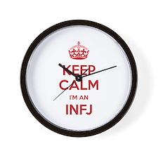 Keep Calm I'm An INFJ Wall Clock