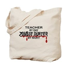 Zombie Hunter - Teacher Tote Bag