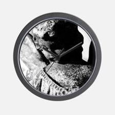 Southern Gothic Stone Angel Wall Clock