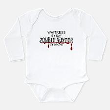 Zombie Hunter - Waitre Long Sleeve Infant Bodysuit