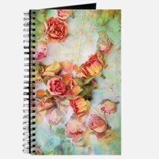 Beautiful vintage roses Journal