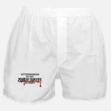 Zombie Hunter - Vet Boxer Shorts