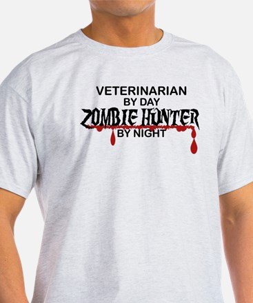 Zombie Hunter - Vet T-Shirt