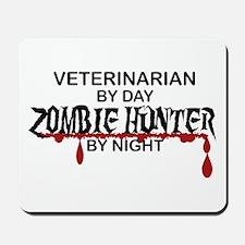 Zombie Hunter - Vet Mousepad