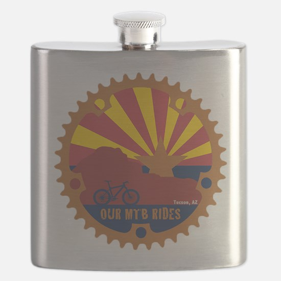 Our Mtb Rides Flask