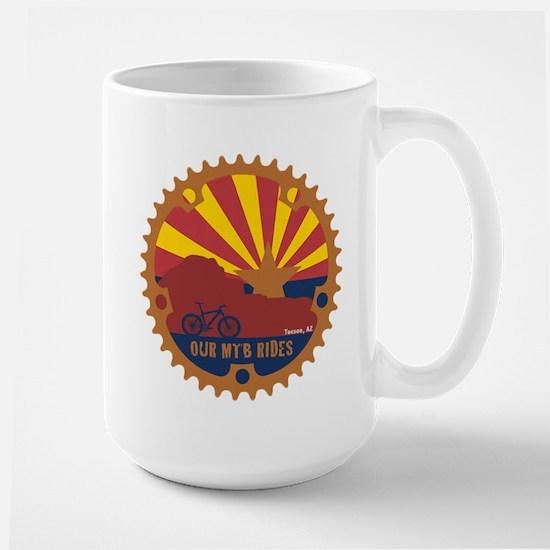 Our Mtb Rides Large Mug Mugs