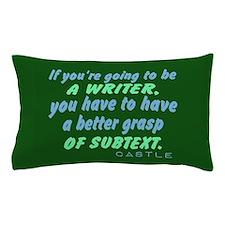 Castle Quote Subtext Pillow Case