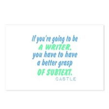 Castle Quote Subtext Postcards (Package of 8)