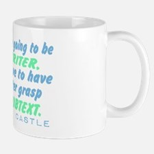 Castle Quote Subtext Mug