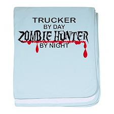 Zombie Hunter - Trucker baby blanket
