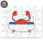 Crab in Bathtub Puzzle