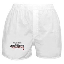 Zombie Hunter - X-Ray Tech Boxer Shorts