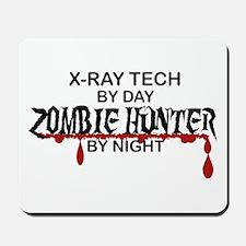 Zombie Hunter - X-Ray Tech Mousepad