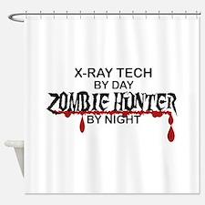 Zombie Hunter - X-Ray Tech Shower Curtain