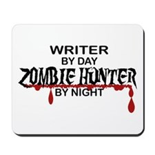 Zombie Hunter - Writer Mousepad