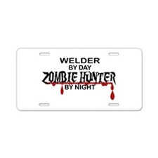 Zombie Hunter - Welder Aluminum License Plate