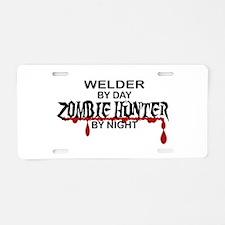 Zombie Hunter - Welder Aluminum License Plate