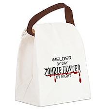 Zombie Hunter - Welder Canvas Lunch Bag