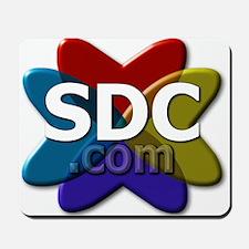SDC logo Mousepad