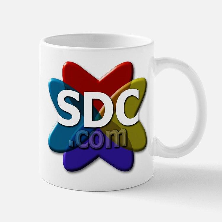 SDC logo Mugs